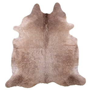 | CHARLOTTE | - CHAMPAGNE COWHIDE RUG - Lux & Hide