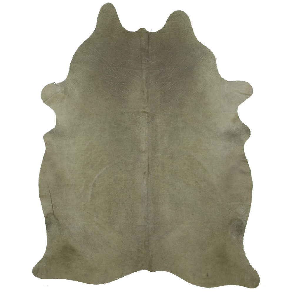 | GARRY | - DYED OLIVE GREEN COWHIDE RUG