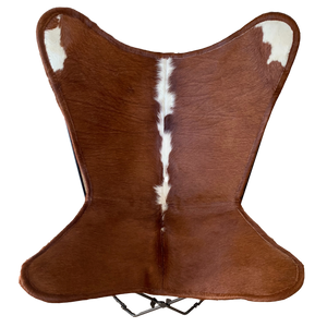HEREFORD COWHIDE BUTTERFLY CHAIR