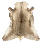 REINDEER HIDE | NATURAL LIGHT - Lux & Hide