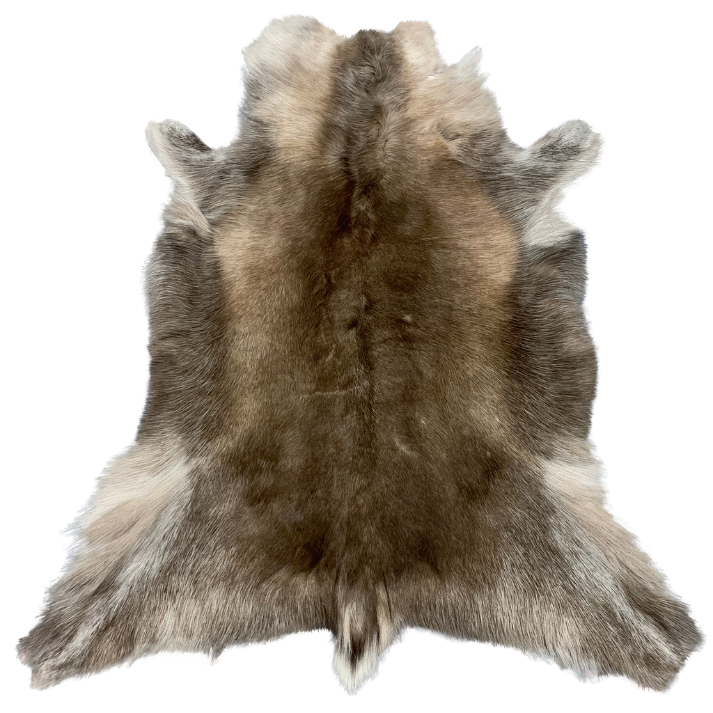 REINDEER HIDE | NATURAL DARK - Lux & Hide