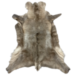 REINDEER HIDE | NATURAL DARK GREY - Lux & Hide