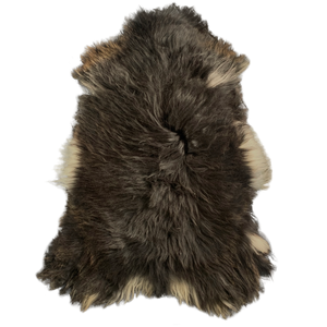ICELANDIC SHEEPSKIN | BLACK + WHITE