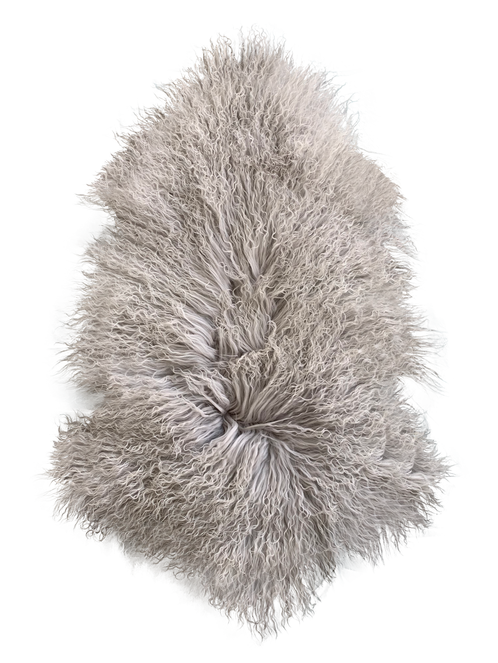 MONGOLIAN SHEEPSKIN | LIGHT GREY