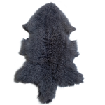 MONGOLIAN SHEEPSKIN | COAL - Lux & Hide