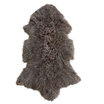 MONGOLIAN SHEEPSKIN | WALNUT - Lux & Hide