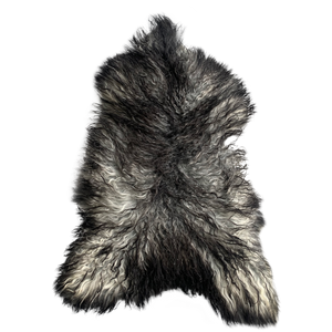 CURLY ICELANDIC SHEEPSKIN | NATURAL GREY - Lux & Hide