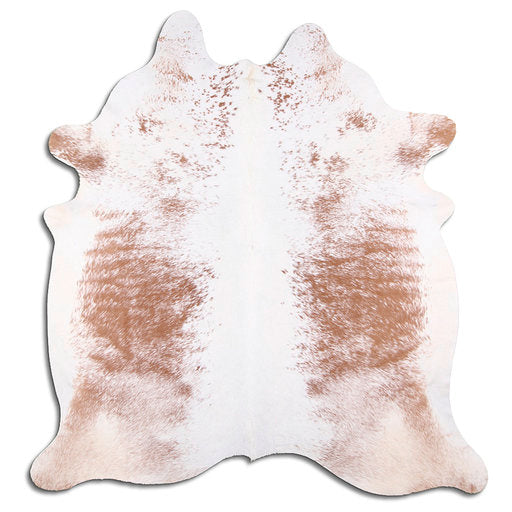 | FLORENCE | - BROWN + WHITE SPECKLE COWHIDE RUG