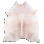 | ZARA | - LIGHT BEIGE COWHIDE RUG
