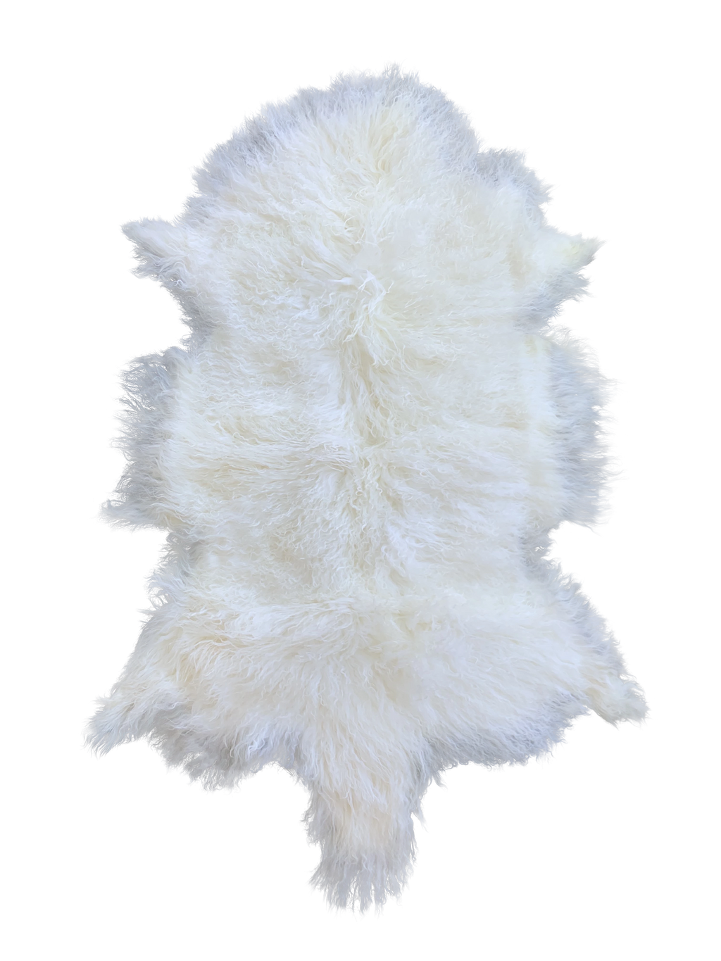 MONGOLIAN SHEEPSKIN | WHITE