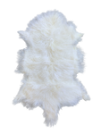 MONGOLIAN SHEEPSKIN | WHITE - Lux & Hide