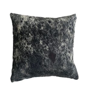 COWHIDE CUSHION | BLACK SPECKLE