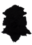 MONGOLIAN SHEEPSKIN | BLACK