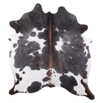 | SASH | - BLACK + WHITE COWHIDE RUG