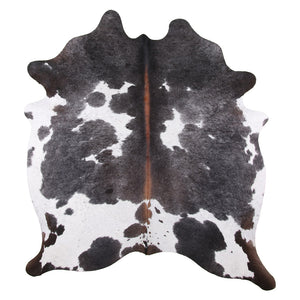 | SASH | - BLACK + WHITE COWHIDE RUG - Lux & Hide