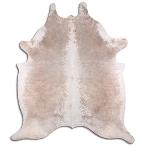 | SELENA | - LIGHT CHAMPAGNE COWHIDE RUG - Lux & Hide