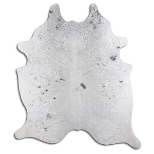 | DUSTIN | - BLACK + WHITE SPECKLE COWHIDE RUG - Lux & Hide