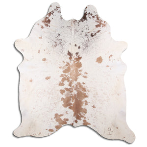 | MIA | - BROWN + WHITE SPECKLE COWHIDE RUG