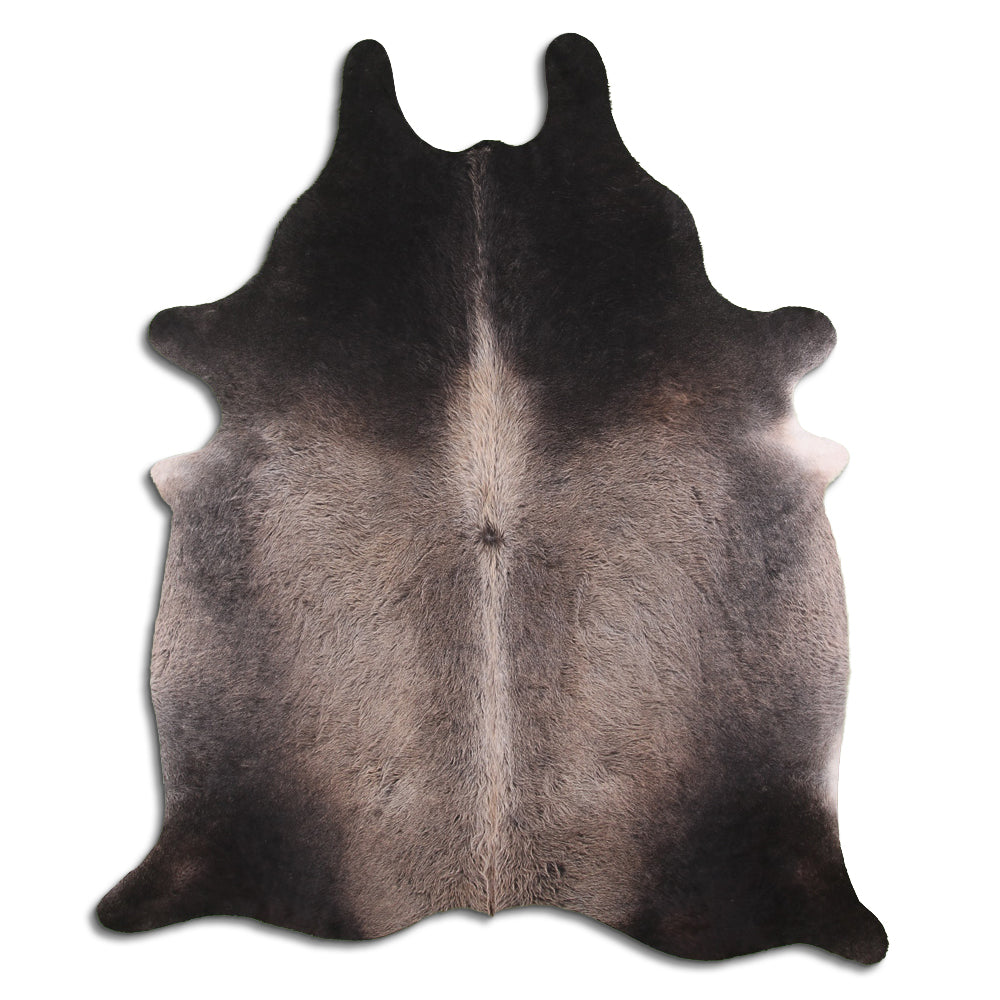 | SCOTT | - TAN GREY COWHIDE RUG - Lux & Hide