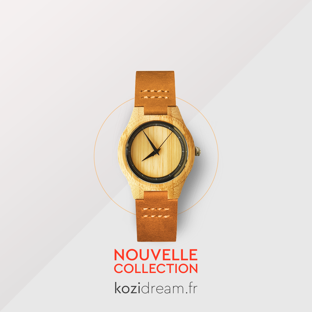 montre en bois nouvelle collection