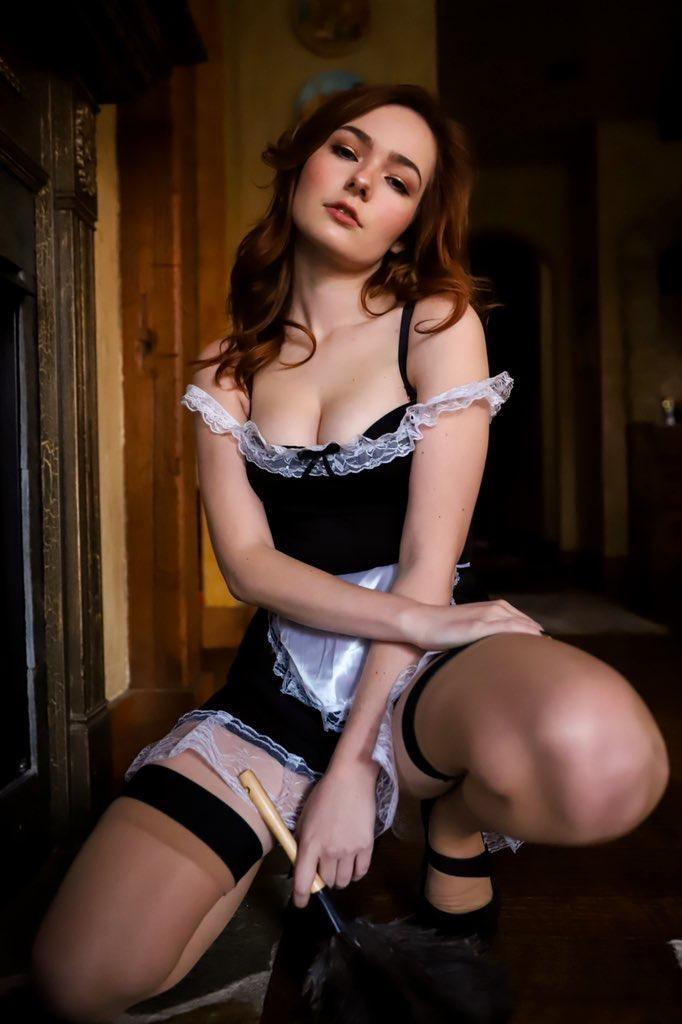 French Maid Print (Signed)