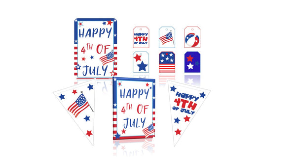 4th of July Party Pack Printables