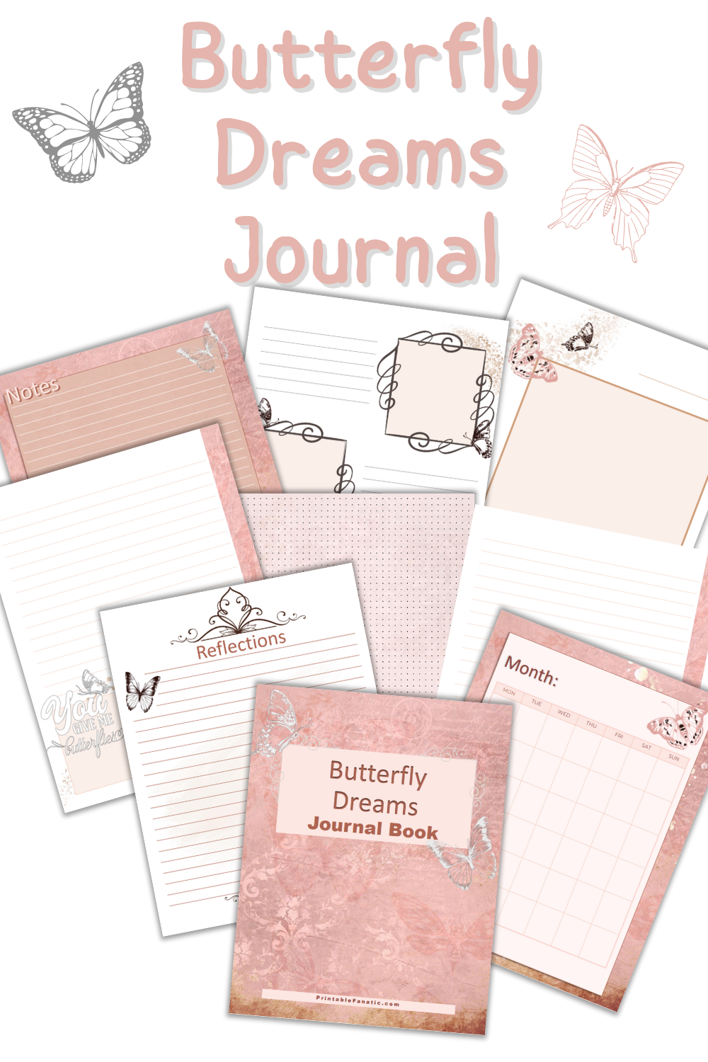 Butterfly Dream Journal