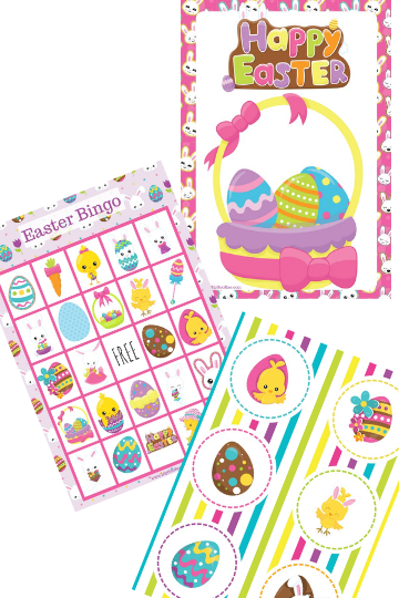 Fun Easter Printable pack