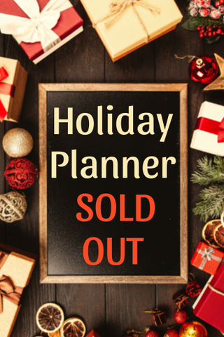 Season Greetings Holiday Planner