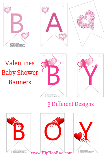 Valentines Baby Shower Games with Bonuses