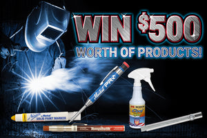 Win $500 worth of LA-CO Industries Welding Products!