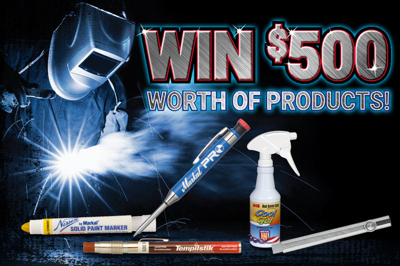 Win $500 worth of LA-CO Industries Welding Products! – markal com