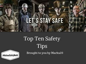 Top Ten Workplace Safety Tips