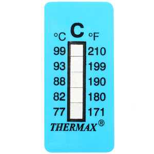 Thermax Level Strip Indicators- 99°F (37°C)- 160°F (71°) 10-Pack
