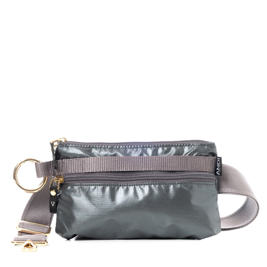 ANDI Urban Clutch - Gunmetal Rock Metallic