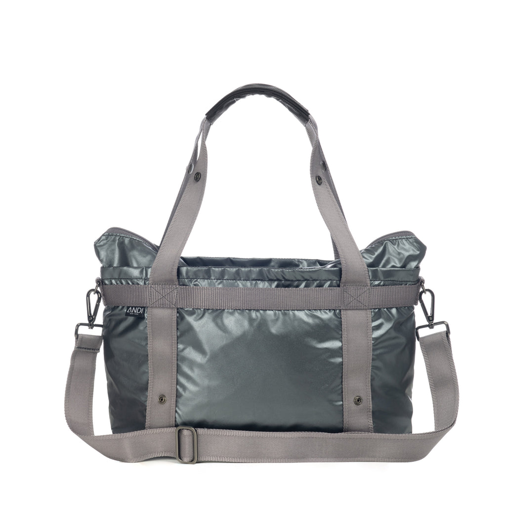 The ANDI Small - Gunmetal Rock Metallic