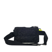 Urban Clutch - Black Leopard Pop Yellow