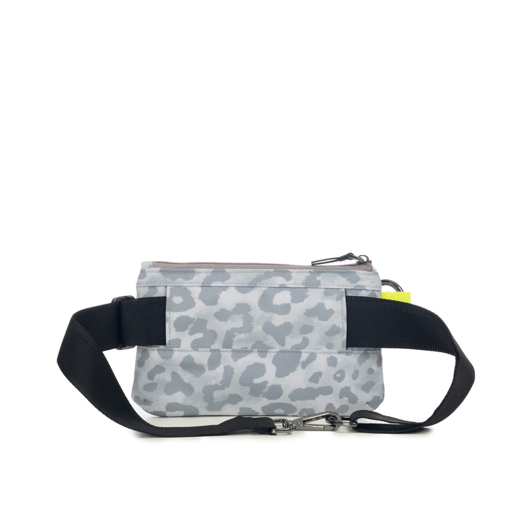 Urban Clutch - White Leopard Pop Yellow