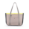 Summer Tote - Sand Denim Pop Yellow