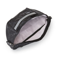 Bum Bag - Black Leopard Reflective