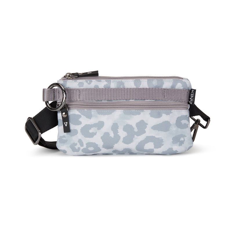 Urban Clutch - White Leopard
