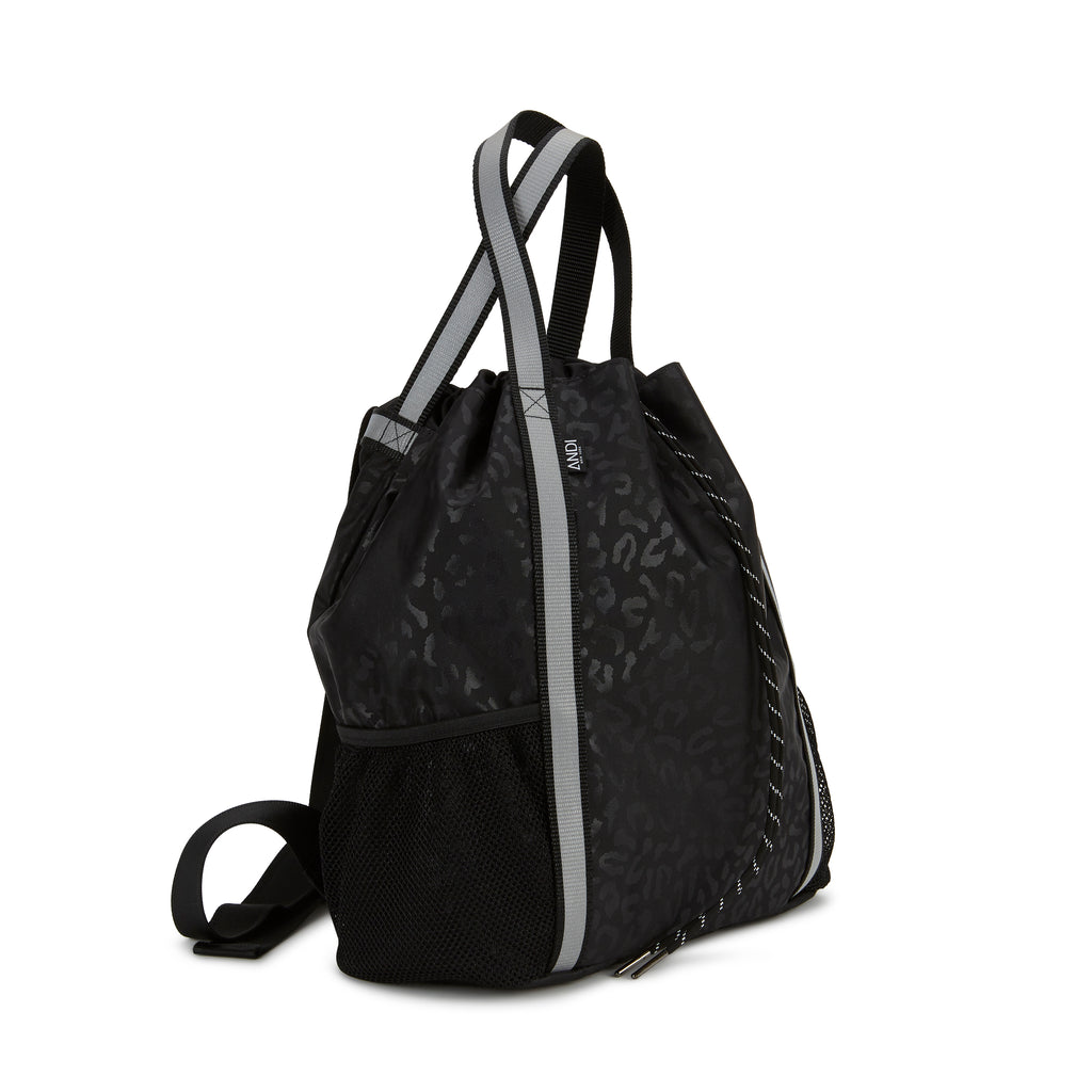 Studio Backpack - Black Leopard