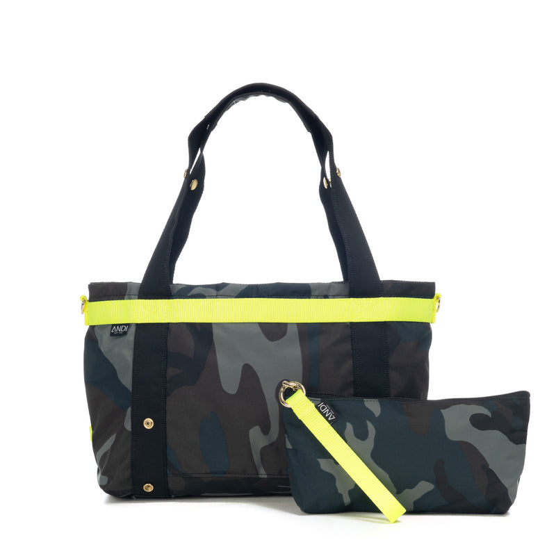 The ANDI Small - Ink Camo Pop Yellow