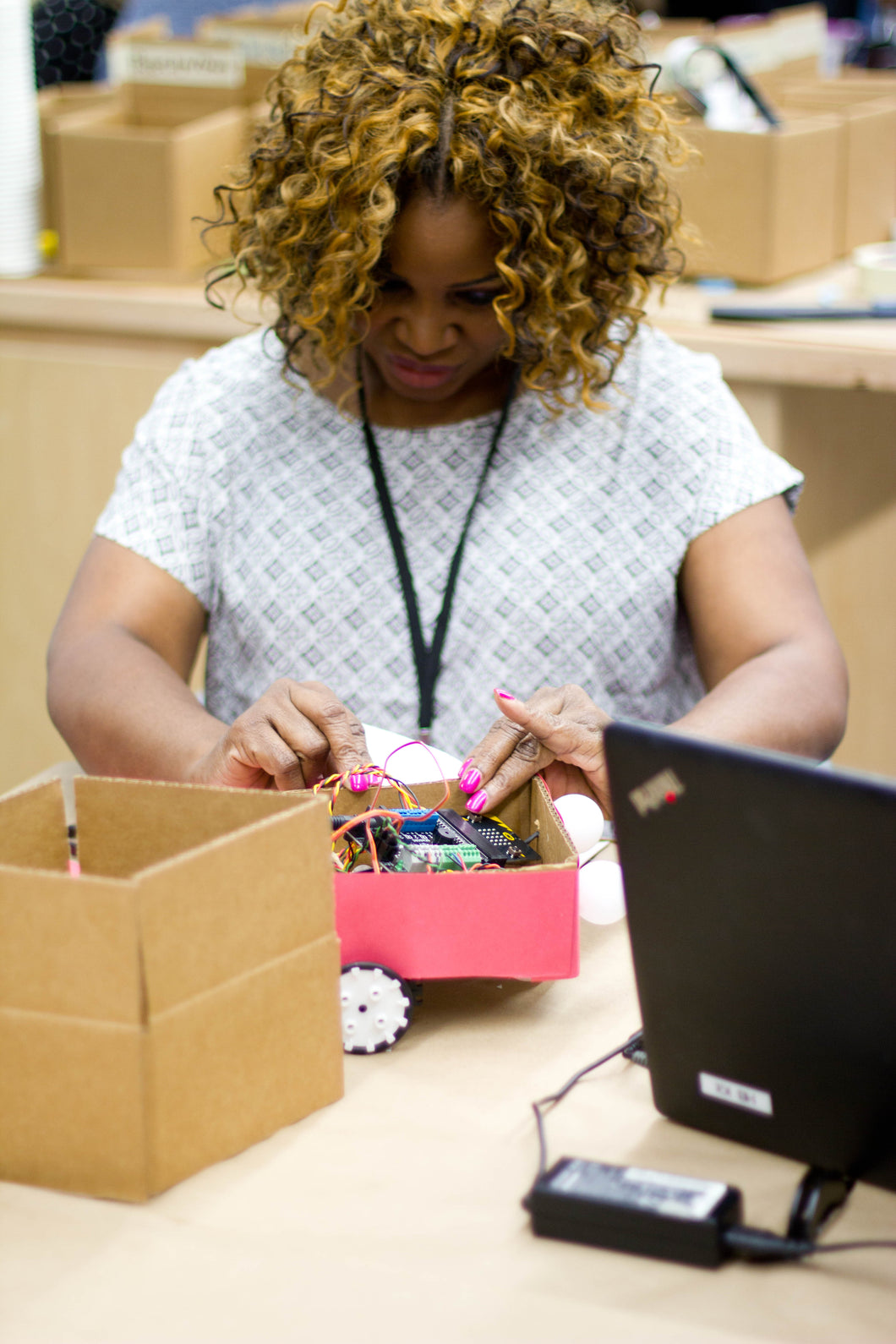Building and Coding Robots with Microcontrollers in Your Classroom: Training with BirdBrain Technologies' Hummingbird Kits in Evanston, IL (March 2)