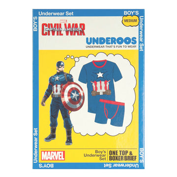 Marvel Captain America Youth Underoos