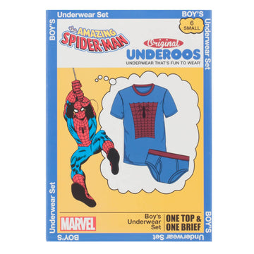 Marvel Spiderman Youth Underoos