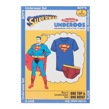 DC Comics Superman Youth Underoos
