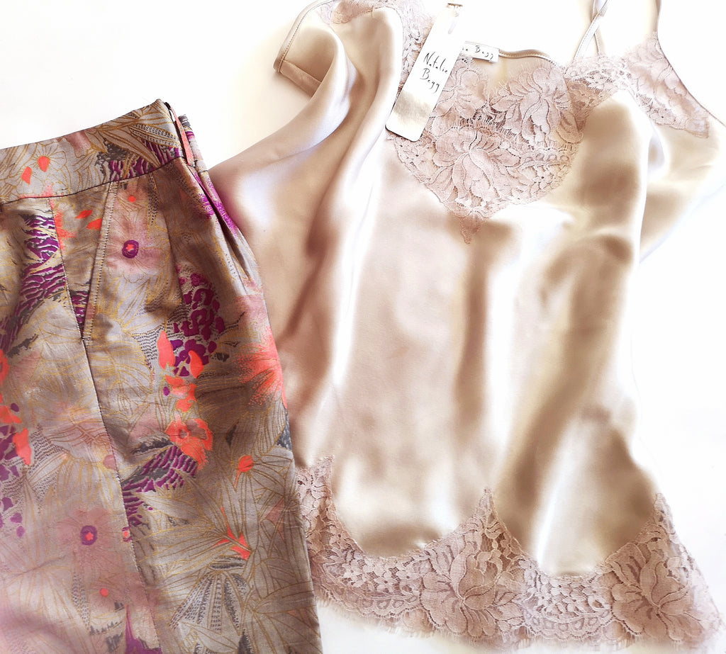oyster_french_lace_camisole_with_floral_skirt
