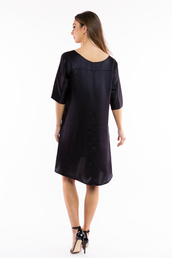 Loose fitting Silk Shift Dress