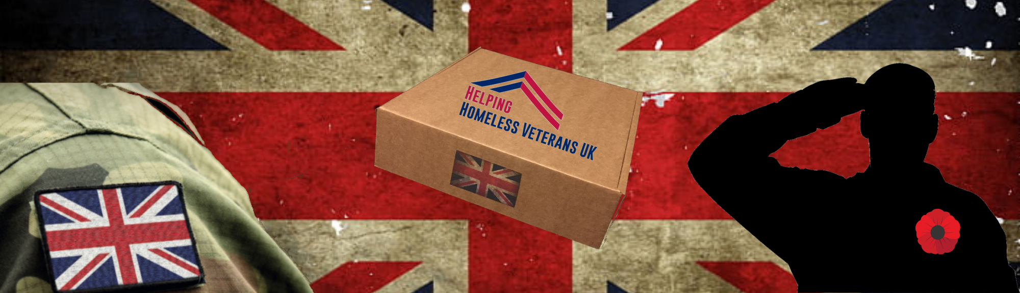 Jacked Bull Nutrition working with Helping homeless veterans UK